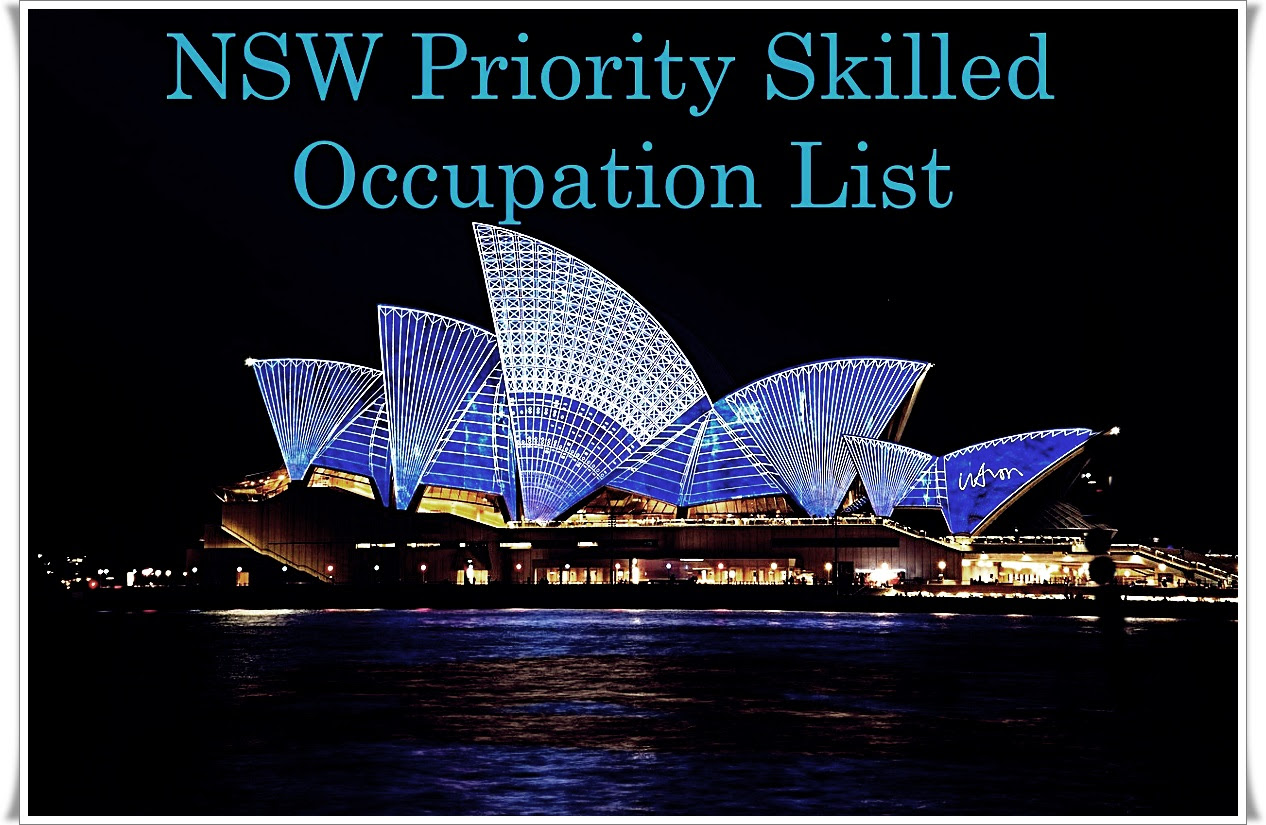 NEW SKILLED OCCUPATION LIST FOR NSW
