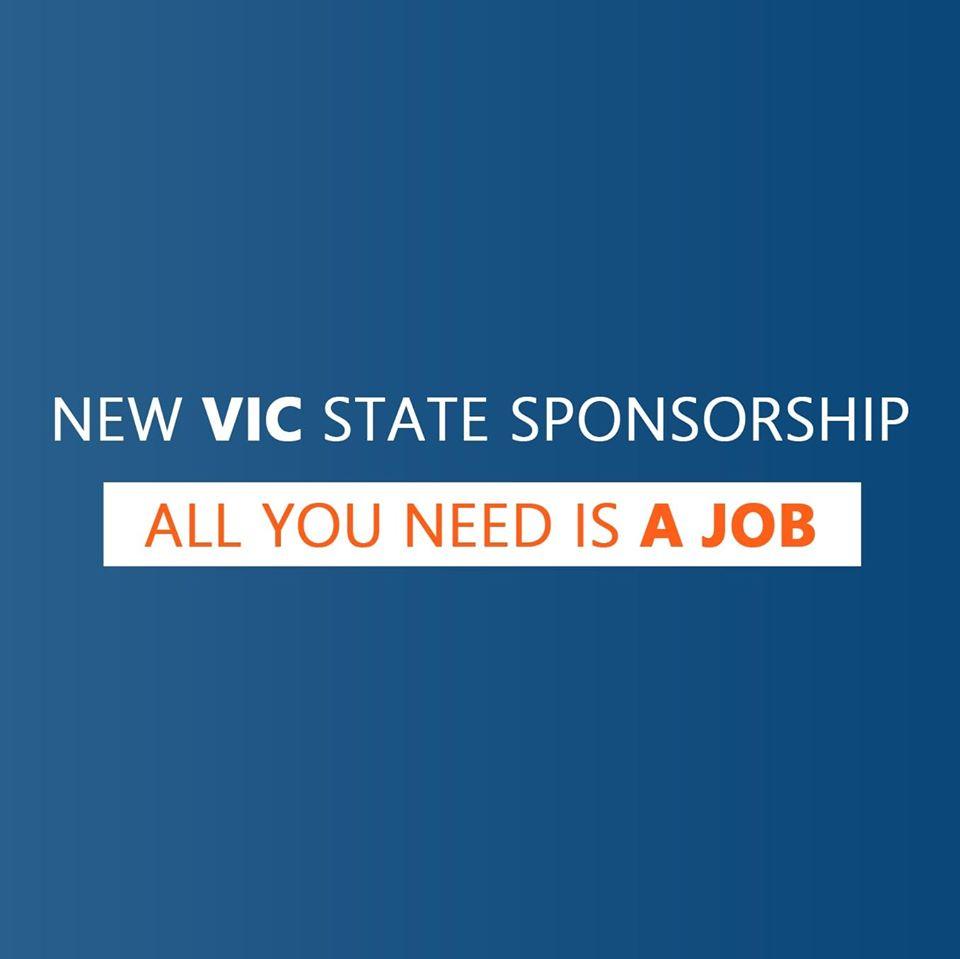 New Victorian State Sponsored 491 Visa