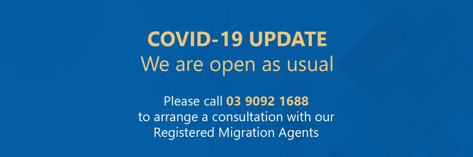 Covid-19 and impact on VIC nomination visa