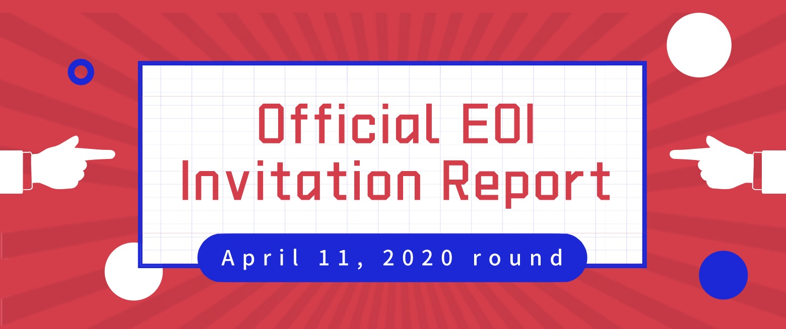 <Official EOI Invitation Report> Only 100 Invitations Issued in April 11th Round, with the Minimum Points Score Reaching 95! 120 Points Score is Now Part of the Picture!