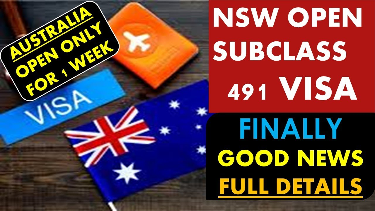 491 New South Wales Nominations open, hurry now!!
